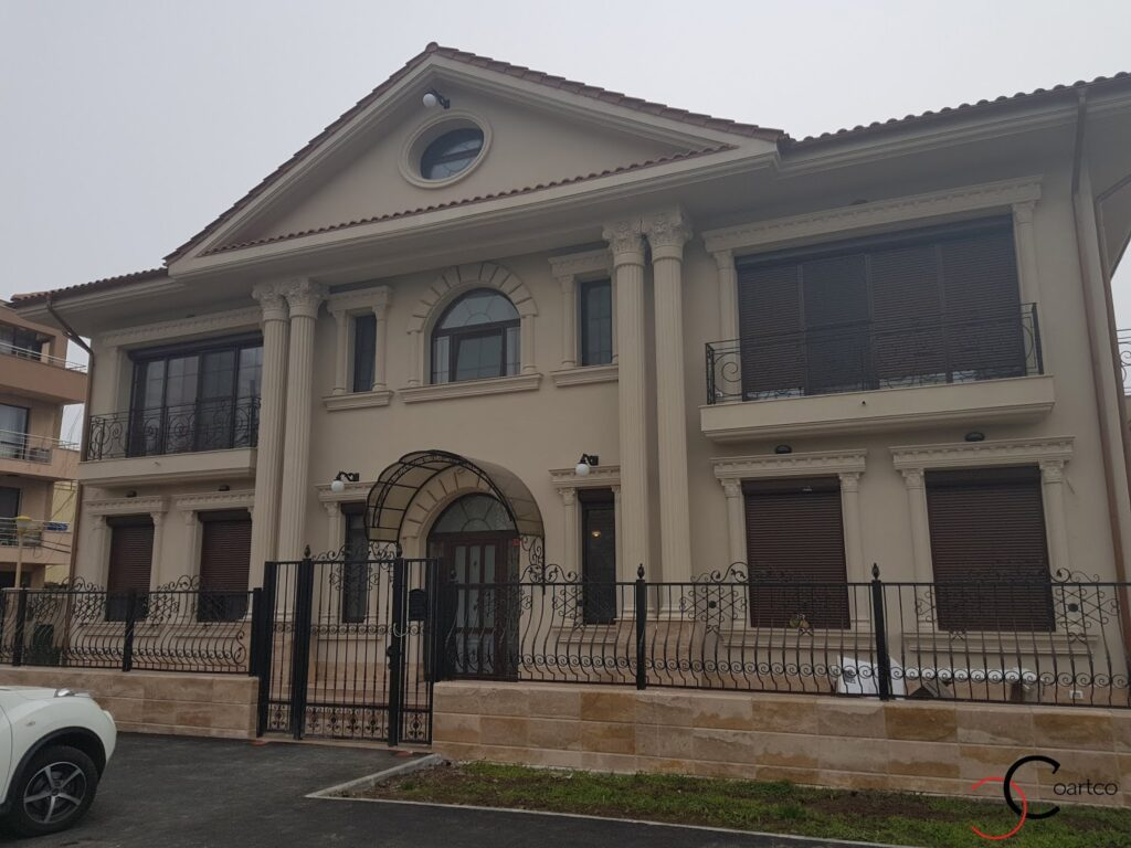 Proiect casa rezidentiala Constanta cu profile decorative din polistiren CoArtCo