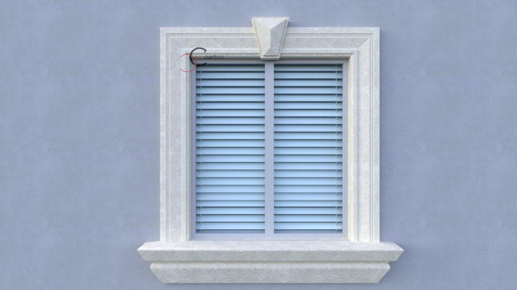 Profile din polistiren CoArtCo pentru solbanc fereastra