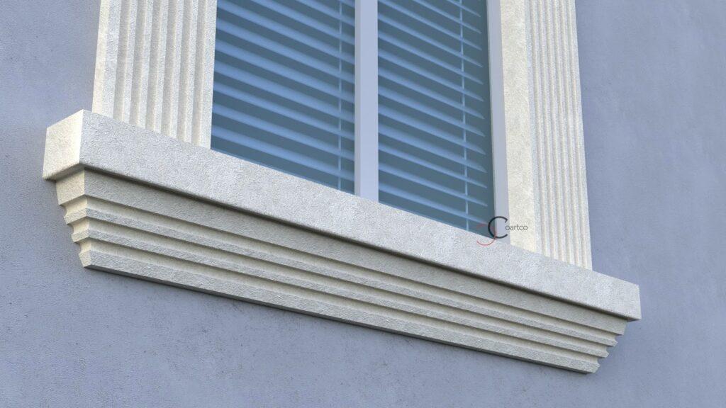 Profile decorative CoArtCo solbanc personalizat