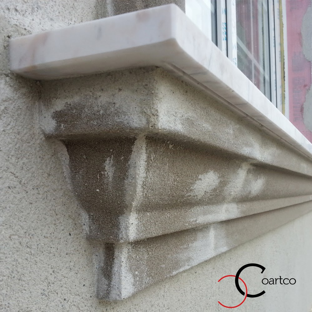 profile ornamentale, Firma constructii montaj profile fatade polistiren si glafuri din marmura