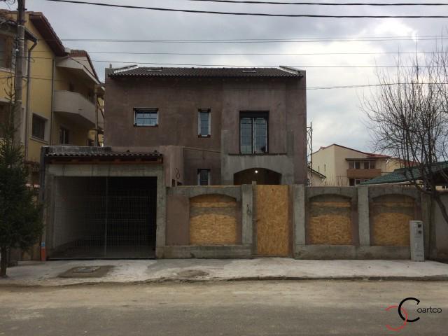 Proiect fatada casa rezidentiala constanta cu profile CoArtCo