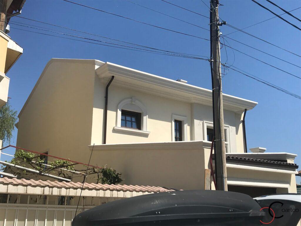 Profile decorative din polistiren CoArtCo pentru fatada casa