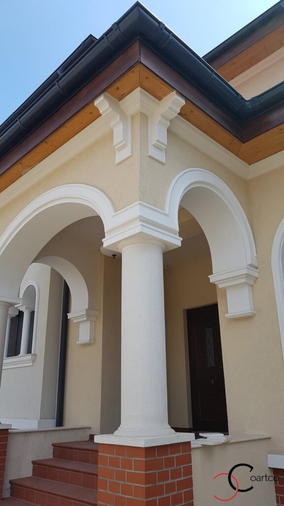 Coloane intrare decorative din polistiren CoArtCo