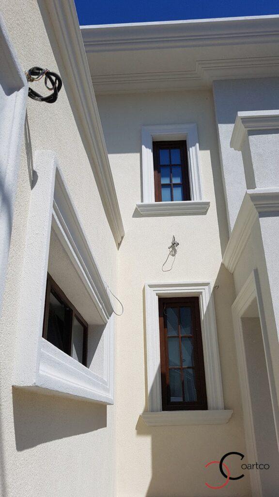Ancadramente decorative pentru ferestre din polistiren CoArtCo