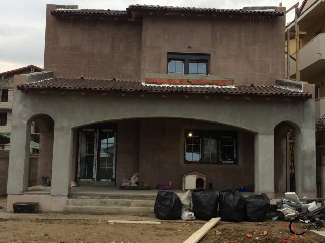 Proiect fatada casa rezidentiala Constanta cu profile decorative CoArtCo