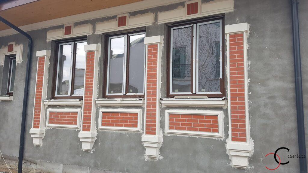 Montaj profile decorative din polistiren CoArtCo pentru exterior