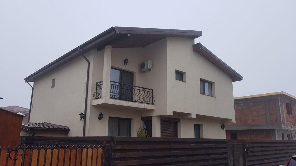 Proiect casa rezidentiala Otopeni cu profile decorative CoArtCo