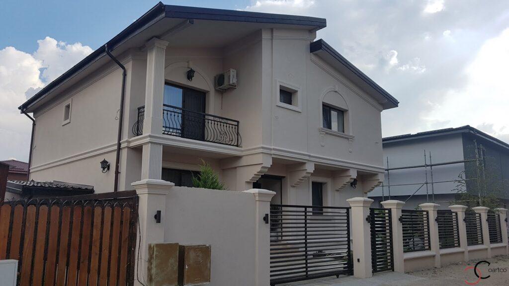 Profile decorative din polistiren CoArtCo personalizate pentru fatada casei