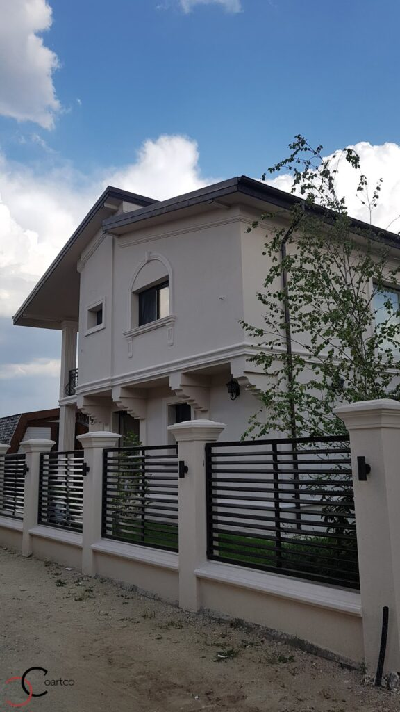 Profile decorative din polistiren CoArtCo pentru gard si fatada casei
