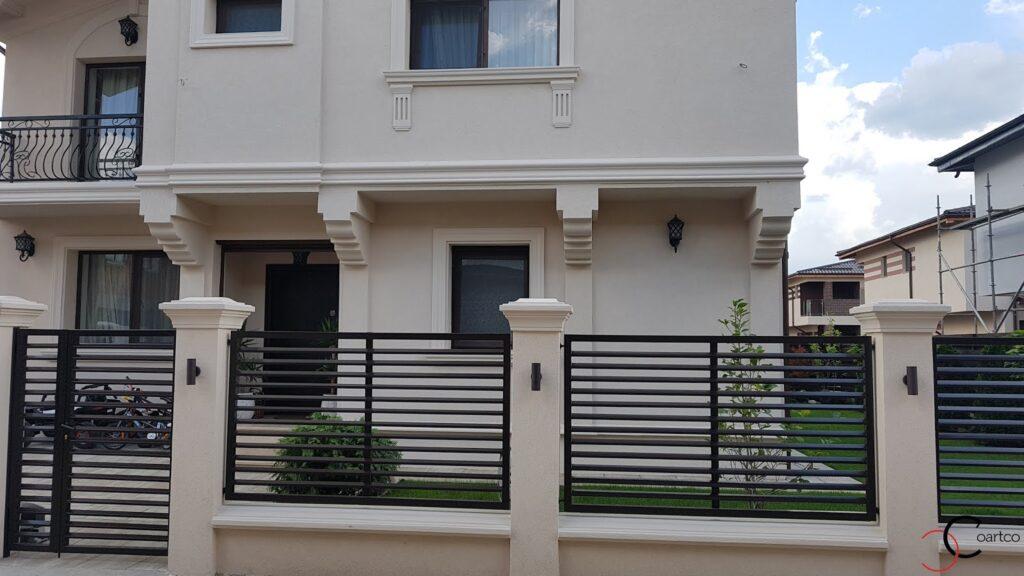 Profile decorative personalizate CoArtCo pentru gard si fatada casei