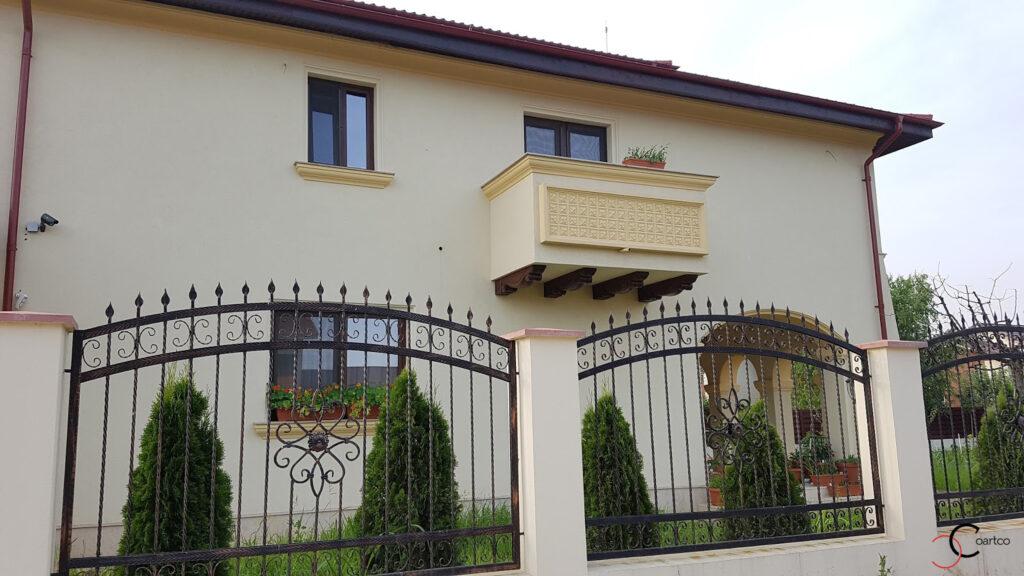 Panou decorativ balcon si ancadramente ferestre din polistiren CoArtCo