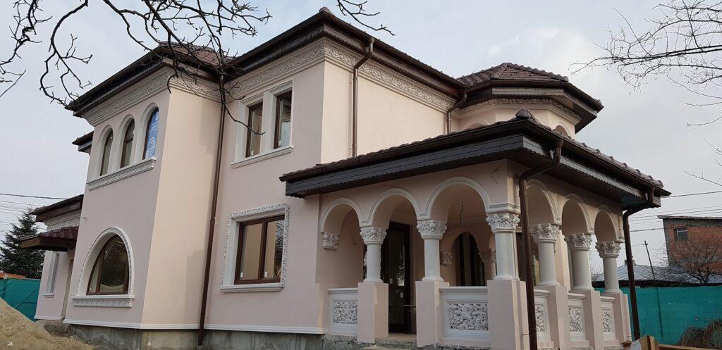 Culori fatade case exterior - Proiect casa rezidentiala Bucurestii Noi