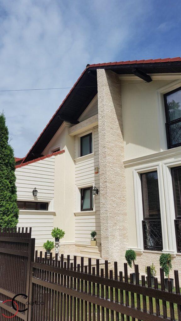 Profile personalizate CoArtCo pentru fatada casei