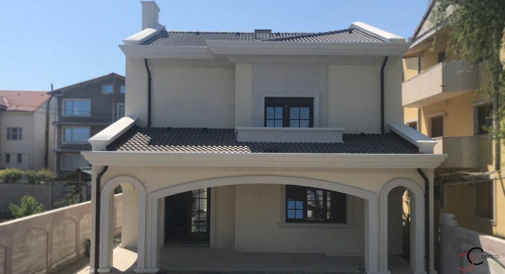 Culori fatade case exterior - Proiect casa rezidentiala Constanta