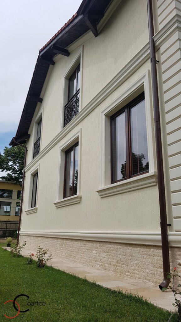 Ancadramente ferestre si brau decorative din polistiren CoArtCo