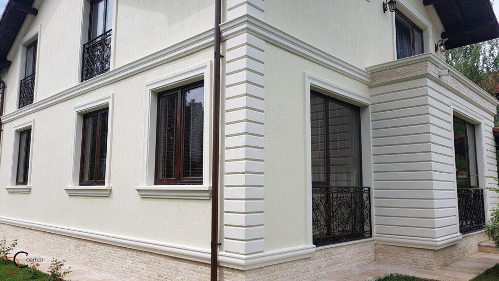 Elemente arhitecturale personalizate decorative din polistiren CoArtCo