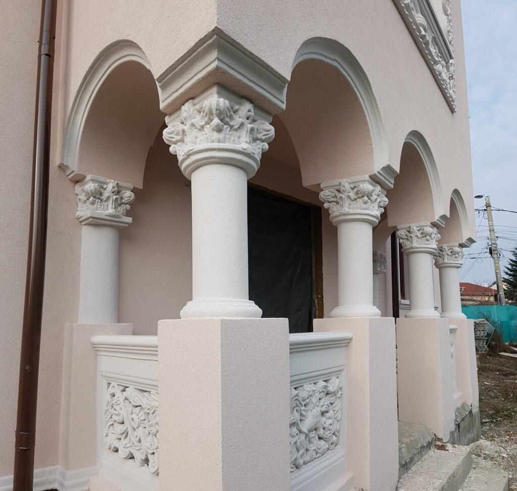 Coloane decorative cu arcada din polistiren CoArtCo