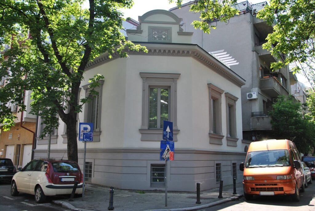 Culori fatade case exterior - Proiect casa rezidentiala Bucuresti