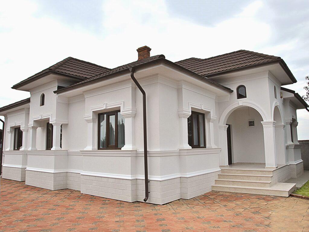 Culori fatade case exterior - Proiect casa rezidentiala Lunguletu