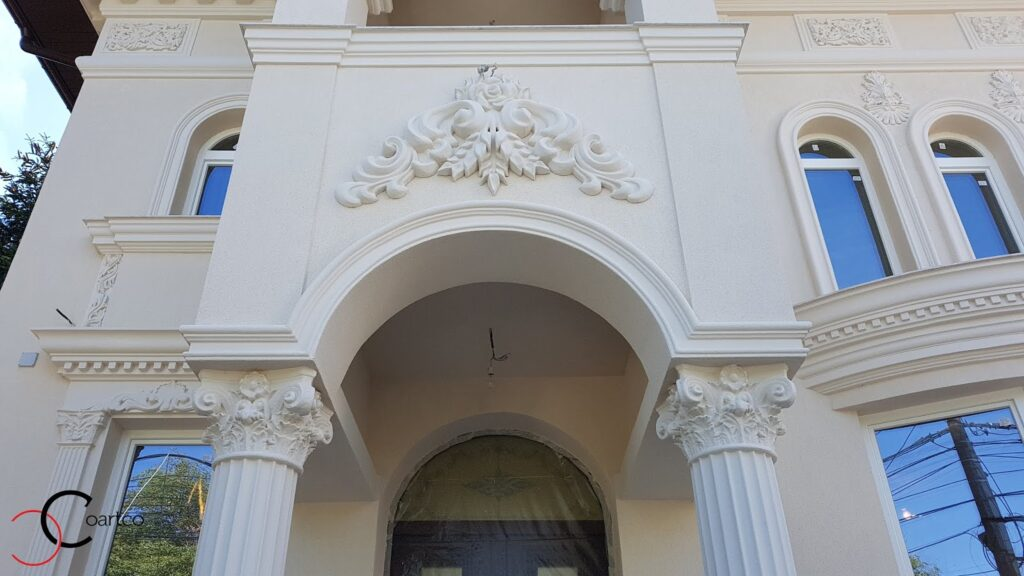 Arcada intrare casa din polistiren CoArtCo
