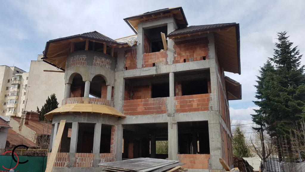 Constructie casa cu profile din polistiren CoArtCo
