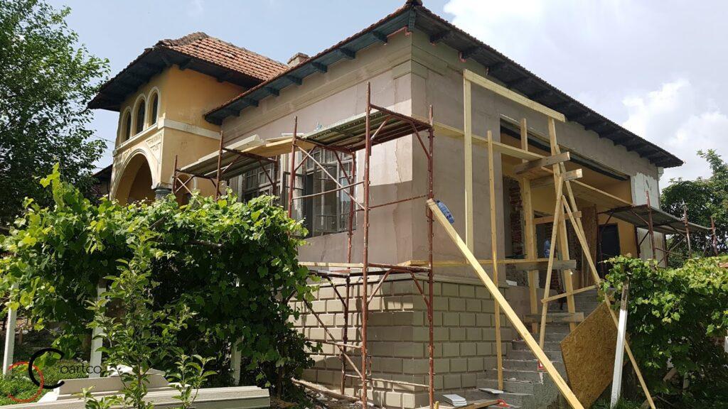 Manopera montaj profile din polistiren CoArtCo proiect social casa
