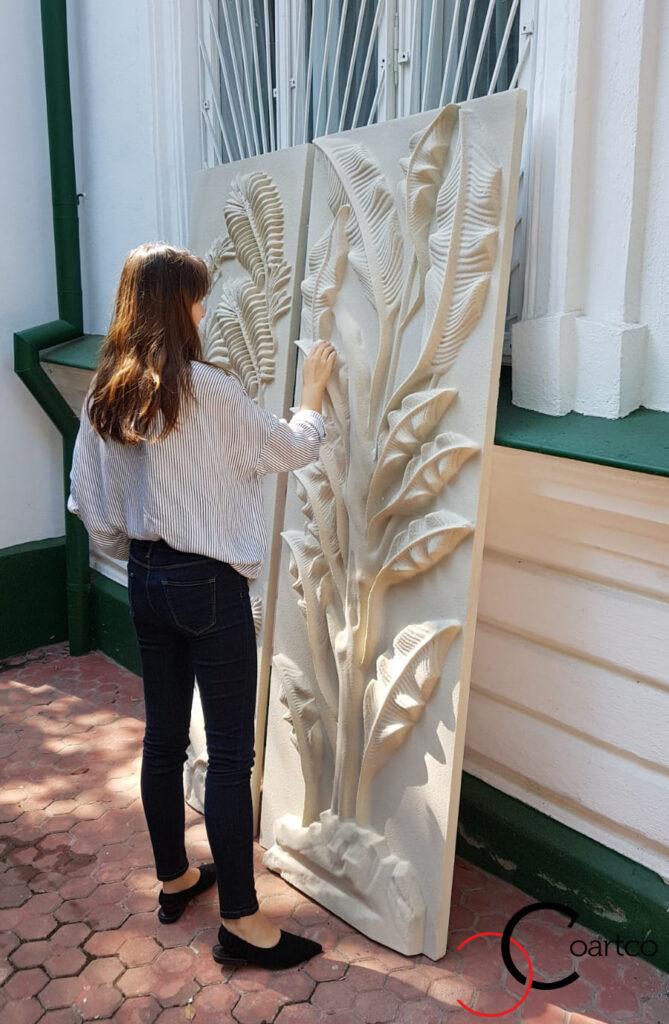 Panou decorativ jungla din polistiren CoArtCo