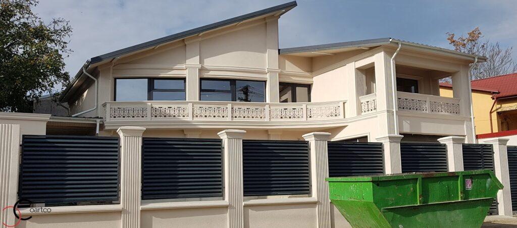 Proiect casa rezidentiala in Ploiesti cu Profile Decorative din Polistiren CoArtCo