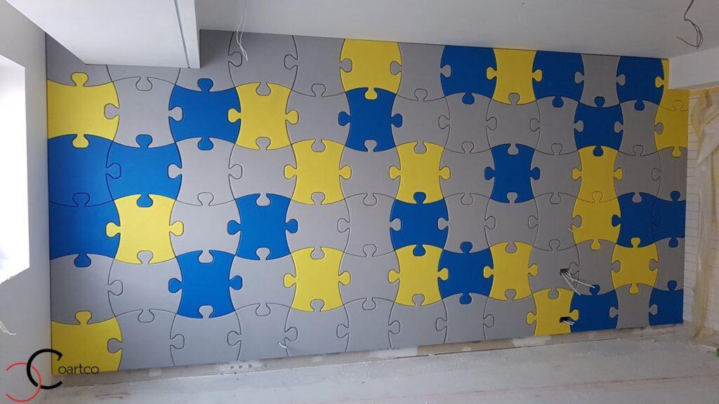 Proiect puzzle de perete personalizat CoArtCo