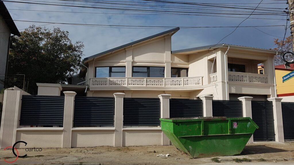 Profile decorative CoArtCo pentru fatada casei si gard