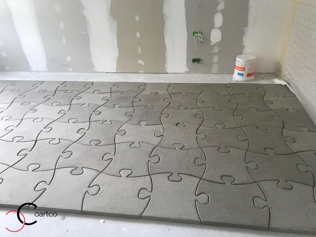 Puzzle personalizat din polistiren CoArtCo pentru interior