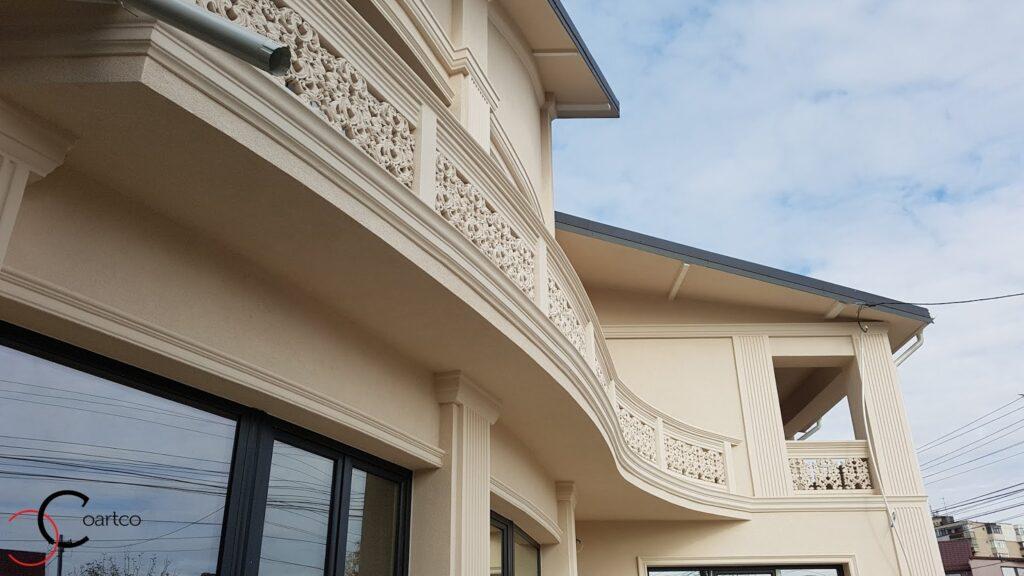 Profile decorative curbate din polistiren CoArtCo pentru exterior