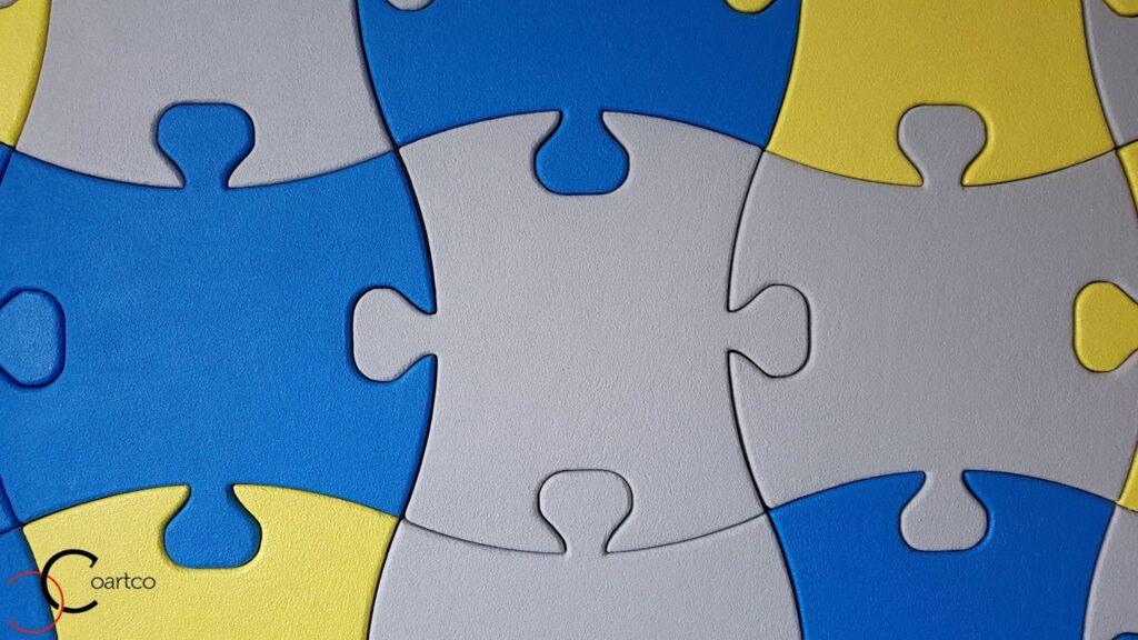 Piese puzzle pentru interior din polistiren CoArtCo