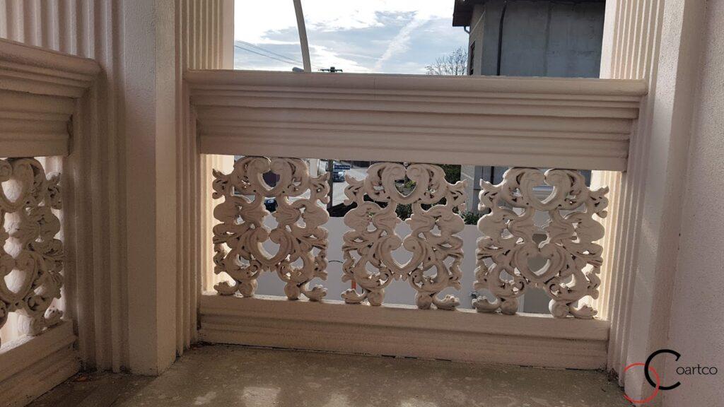 Panouri decorative din polistiren CoArtCo pentru balcon