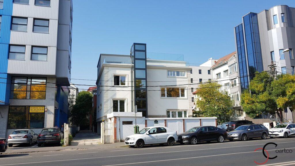 Proiect fatada casa cu profile decorative personalizate CoArtCo