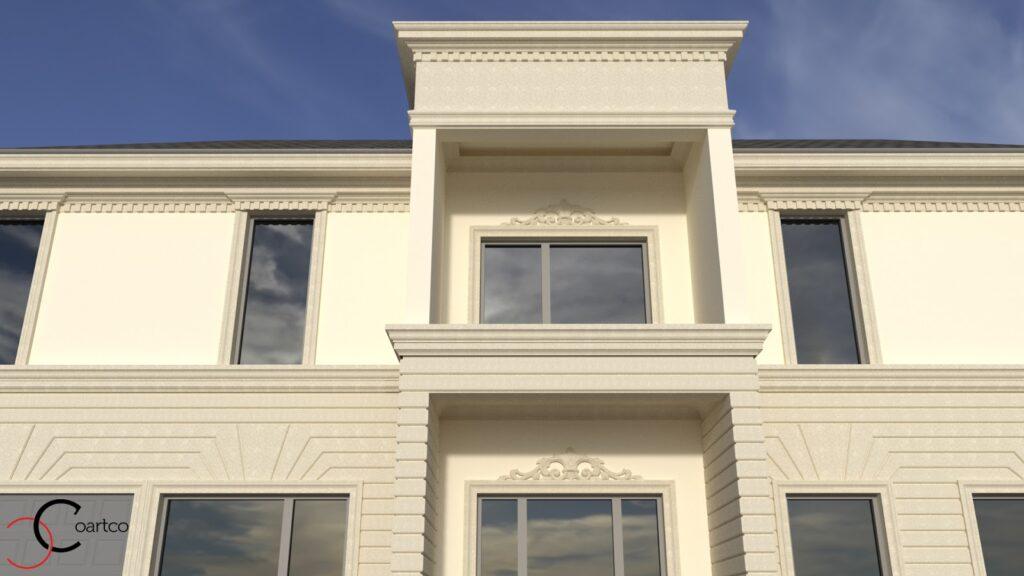 Serviciu suplimentar randare 3D cu profile decorative CoArtCo