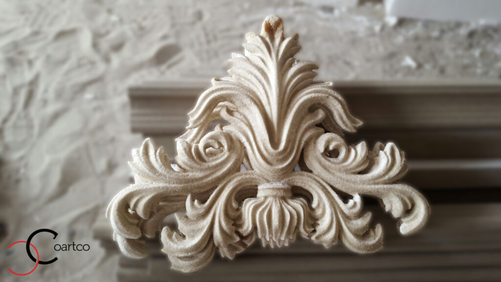 Stucatura decorativa personalizata din polistiren CoArtCo pentru fatada casei