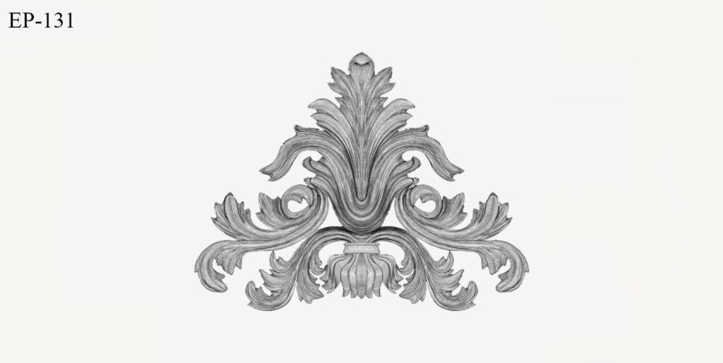 ornamente din polistiren model versace pentru fatada casei, stucatura coartco model masca medusa versace