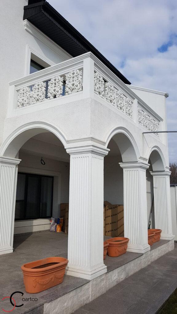 Arcade si coloane decorative din polistiren CoArtCo