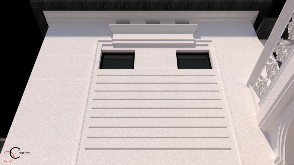 Serviciu suplimentar simulare 3D cu profile personalizate din polistiren CoArtCo
