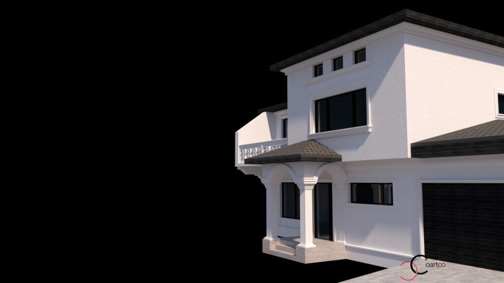Simulare 3D cu profile decorative CoArtCo