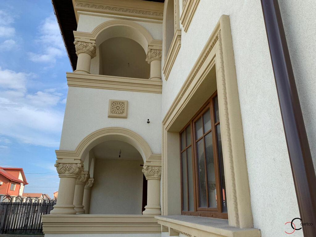 Coloane cu arcade neoromanesti din polistiren CoArtCo