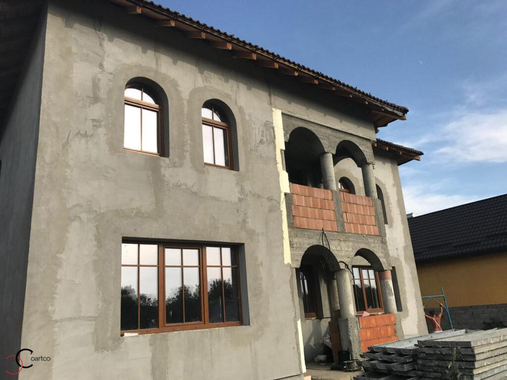 Fatada casa stil neoromanesc fara profile CoArtCo
