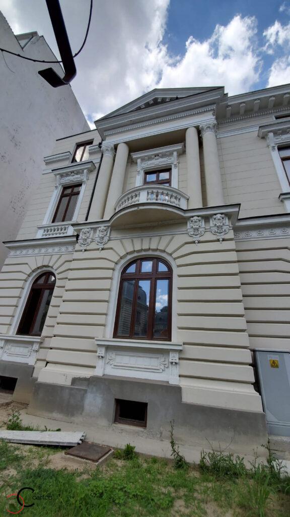Renovare elemente arhitecturale clasice cu profile din polistiren CoArtCo
