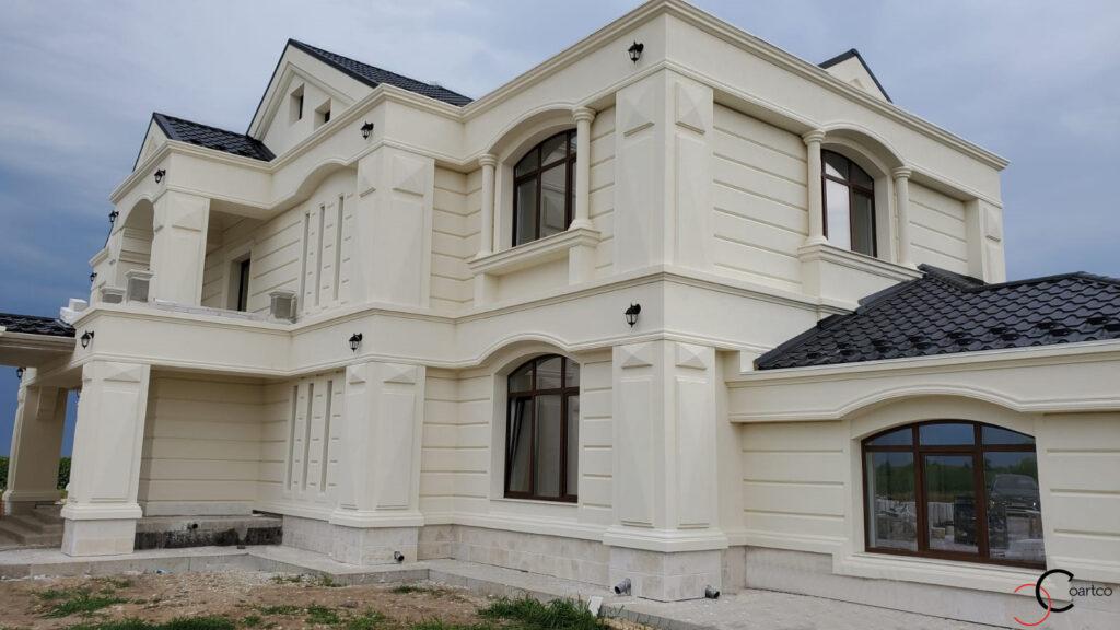 Elemente arhitecturale decorative din polistiren CoArtCo pentru exterior