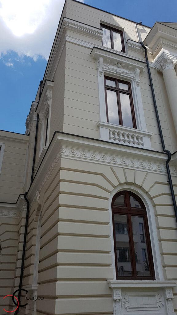 Refacere elemente arhitecturale pentru fatada caselor clasice