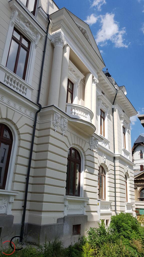 Renovare fatada casa clasica cu profile decorative din polistiren CoArtCo