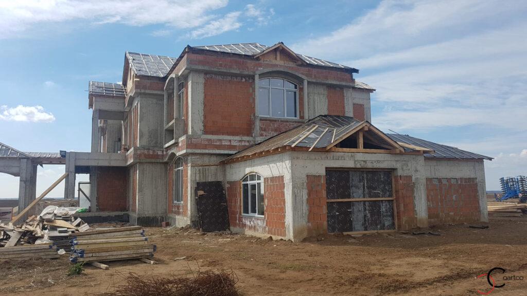 Fatada casa la rosu fara profile CoArtCo