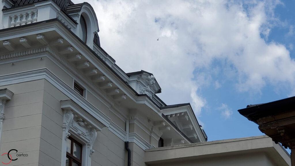 Renovare cornisa decorativa din polistiren CoArtCo
