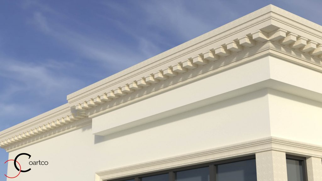 cornise decorative, profile decorative exterior